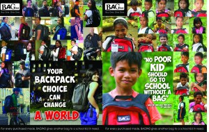 Backpack-Givers & Kids